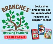 Scholastic Trade: Branches, growing readers.